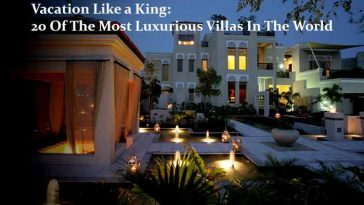 20 Of The Most Luxurious Villas In The World