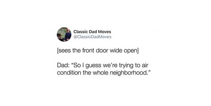 Classic Dad Moves